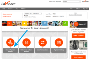 New Business for PAYONEER